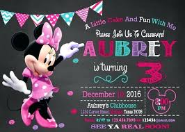 Free Minnie Mouse Birthday Invitations Party Invitations Minnie Mouse Cryptoforpak