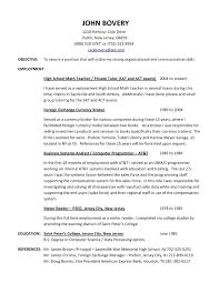 Teaching Resumes 9 Sample High School Teacher Resumes Cover Letter