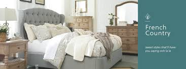 French Country Furniture Decor Ashley Furniture HomeStore Custom Bedroom Furniture And Decor