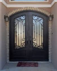 wrought iron front doorsSH 41 Wrought Iron Door  Kings Building Material
