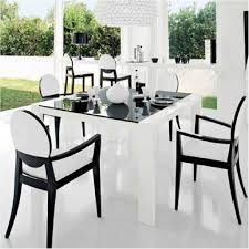superb black and white dining room set images gen congress regarding chairs fearsome presentation black and