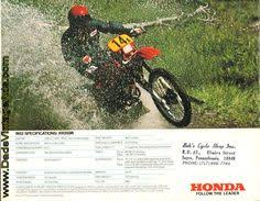 flic kr p afz7y1 1985 honda xr350r and xr600r brochure 1983 honda xr350r motorcycle brochure