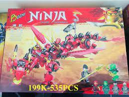 LEGO NINJAGO SIÊU RỒNG ĐỎ ( 535+ Chi tiết ) giá rẻ