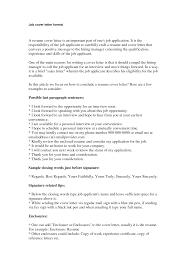 Job Application Cover Letter Free Resumes Tips