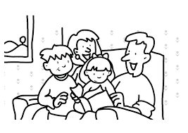 Family Coloring Pages For Preschoolers Family Coloring Worksheets