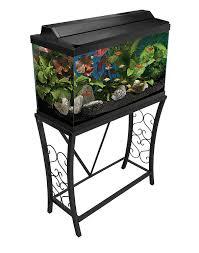 29 Gallon Tank Light Buy Aquatic Fundamentals 29 Gallon Scroll Aquarium Stand