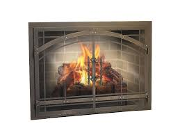 replacement built in fireplace screens ideas