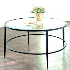 glass tables top display coffee table round side small ikea fur