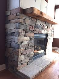 creative ideas how to build a stone fireplace very attractive simple install wood mantel on modern