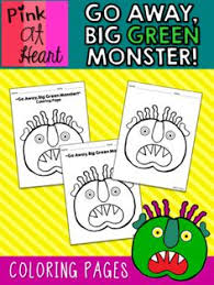 Small Picture GO AWAY BIG GREEN MONSTER COLORING PAGES FREEBIE