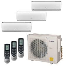 york mini split air conditioner. gree multi-21 zone 30,000 btu 2.5 ton ductless mini split air conditioner with heat york