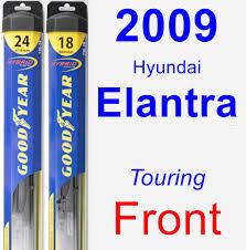 Goodyear Wiper Blades Hybrid Driver 2009 Hyundai Elantra