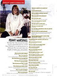 english harrisonburg high school richard morrell proust questionnaire penny marshall s sample
