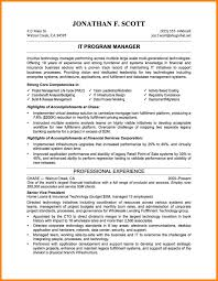 Sample Resume For Director Of Information Technology Fresh 8