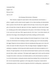 visual response essay 5 golden rules for writing a visual response essay