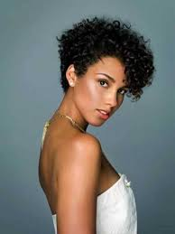Natural African Hairstyles Short Curly Natural African American Hairstyles Easy Casual
