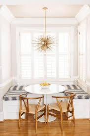 ikea docksta dining table at u shaped dining banquette