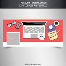 Free Facebook Covers Templates Facebook Timeline Cover Template Vector Free Download