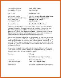 5 6 Form For Business Letter Formsresume