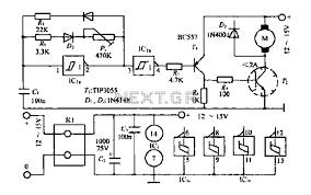 circuit ring shows a typical dc brush motor driver circuit diagram 4 motor control circuit automation circuits next gr circuit ring shows a typical dc brush motor driver circuit diagram 4