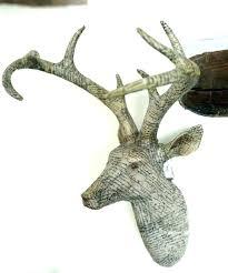 animal head wall mounts wooden deer head stag head decor stag wall art stag head wall
