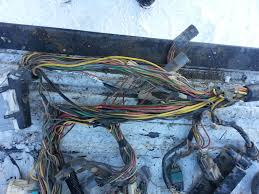 making a stand alone efi harness (pics) ford truck enthusiasts Ford Stand Alone Wiring Harness harness as removed from 90 f150 4.6 ford stand alone wiring harness