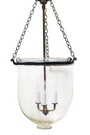 classic bell jar pendant lighting instills a vintage eclectic edge