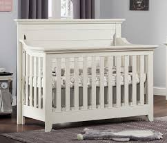 Ozlo Baby Crestwood 4-in-1 Convertible Crib - Oyster White