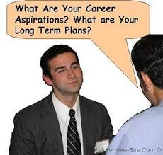 what are your career aspirations interview question and answers