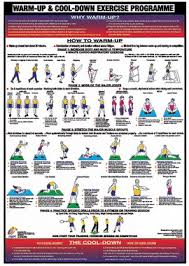 Warm Up And Cool Down Charts