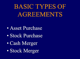 Business Acquisitions The Acquisition Agreement: General ...