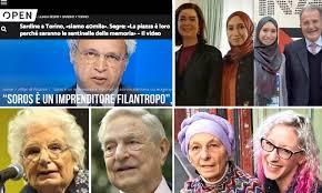 SARDINE, SOROS & Co… Nibras con Boldrini, Prodi e marito ...