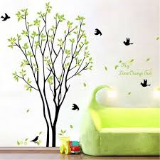Wall Decor Sticker Tree Bird Quote Removable Vinyl Wall Decal Mural Home Art Diy
