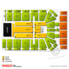 Seating Chart For Harrah S Cherokee Event Center Tyson Event Center Floor Plan Event Home Plans Picture Database