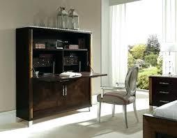 hidden office furniture. Hidden Desk Cabinet Ideas Or Hideaway Inhabit Regarding . Office Furniture B