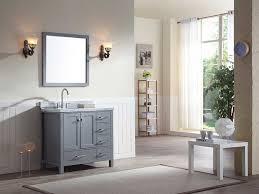 bath cambridge quot single sink vanity set