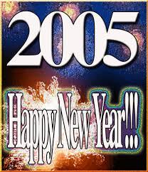 happy new year 2005. Wonderful Happy On Happy New Year 2005 Y