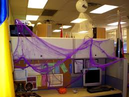 halloween theme decorations office. Halloween Office Decoration Come With Gost Decor And Spider Cubicle Theme Decorations H