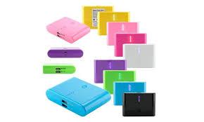 Power Bank Charger 12 000mah 2 Usb Iphone Mobile Ipad