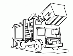 Small Picture Dump Truck Coloring Page Coloring Home