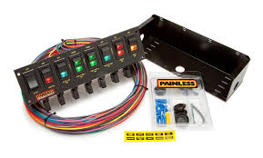 search results painless performance 8 switch rocker circuit breaker panel by painless performance products