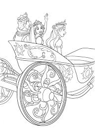 Tangled Coloring Pages Printable Disney Activity Shelter