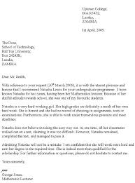 Recommendation Letter from Former Employer Example