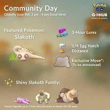 Slakoth Community Day Announced, Slaking Gets Body Slam - Pokémon GO Hub