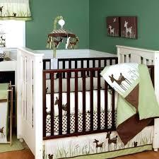 blue and brown crib bedding brown crib bedding set green deer organic neutral baby nursery on blue and brown crib bedding