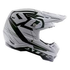 6d Helmets 11 5010 Atr 2y Aero Youth Small White Black Off Road Helmet