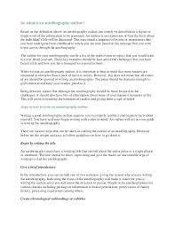 High School Outline Autobiography Template Word For Middle 7 Format