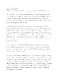 doctors curriculum vitae format cipanewsletter cv format samples uk