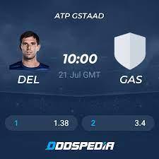 Federico Delbonis - Hugo Gaston » Odds, Picks & Predictions + Stats