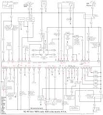 schematics to run engine 1992 95